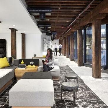 艺术感时尚办公室设计 元素空间构成
