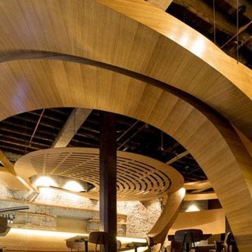 如纸一般轻盈—咖啡厅&餐厅设计