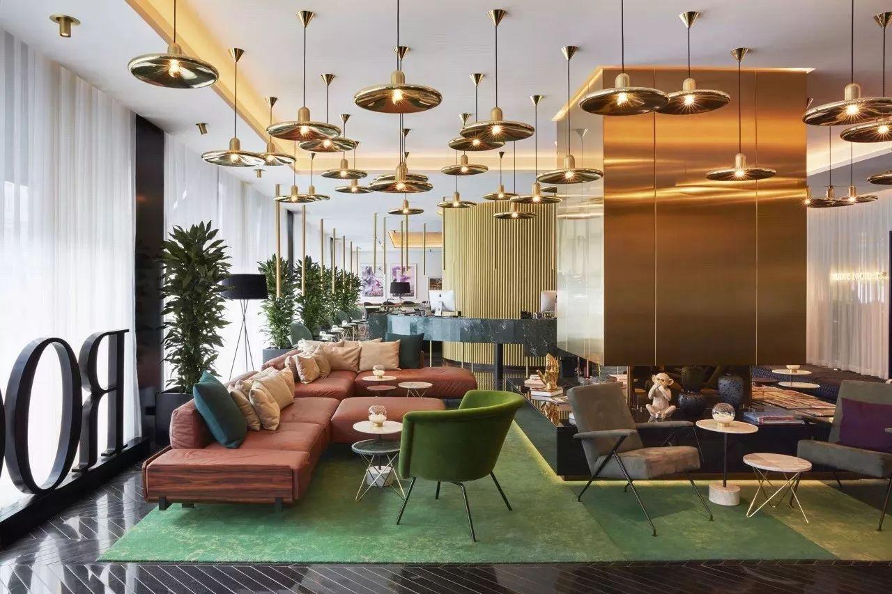 【商业设计关注】时尚前卫的酒店改造设计灵感源自于詹姆斯·邦德的电影