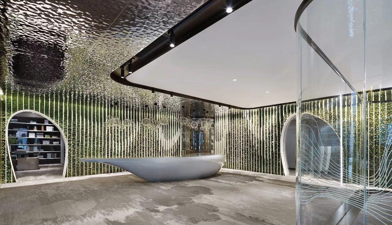 【商业设计关注】把山水搬入室内,创造别有洞天的自然美