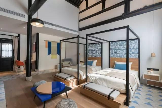 【商业设计关注】一所老房子改造的新中式酒店,惊艳了设计圈!